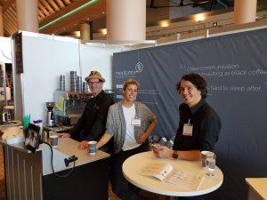 Feiner Kaffee bei der Messe Bremen