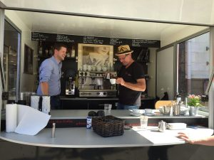 Kaffeepräsentation für Röster Nölker&Nölker